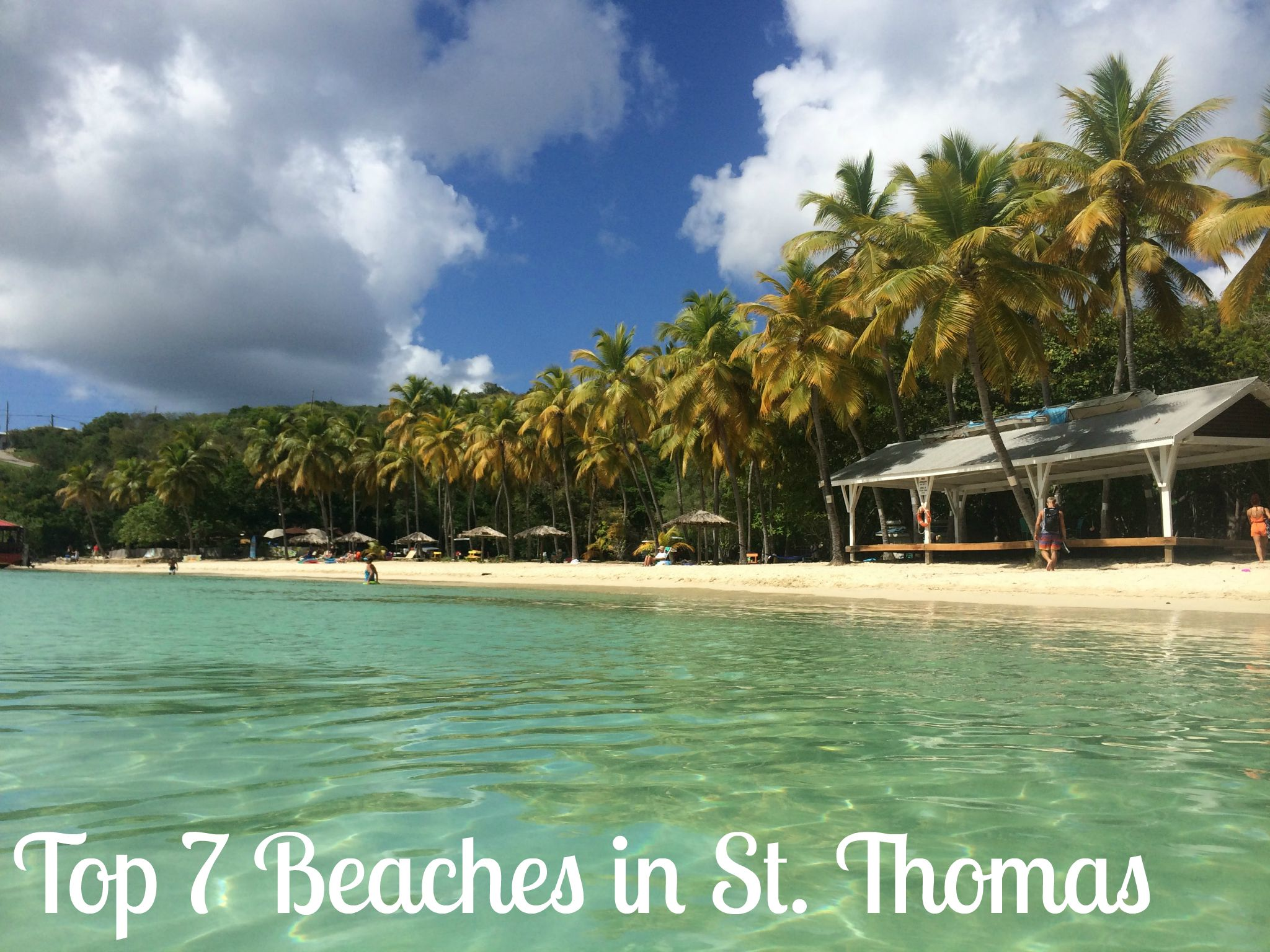 Top seven beaches in St. Thomas