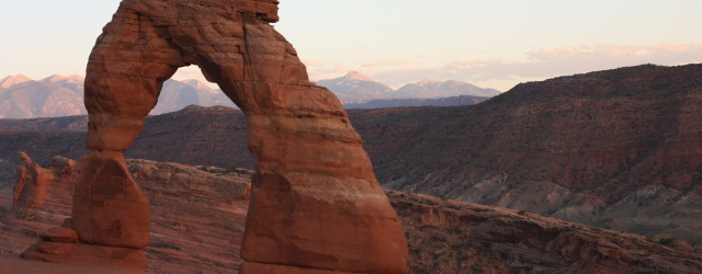 Delicate Arch at Arches National Park